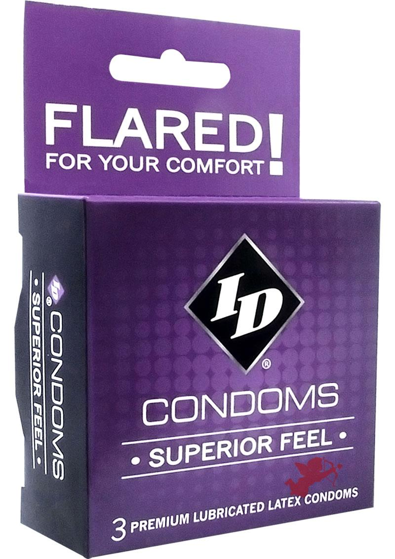 Id Superiour Feel Condom 3 Pack