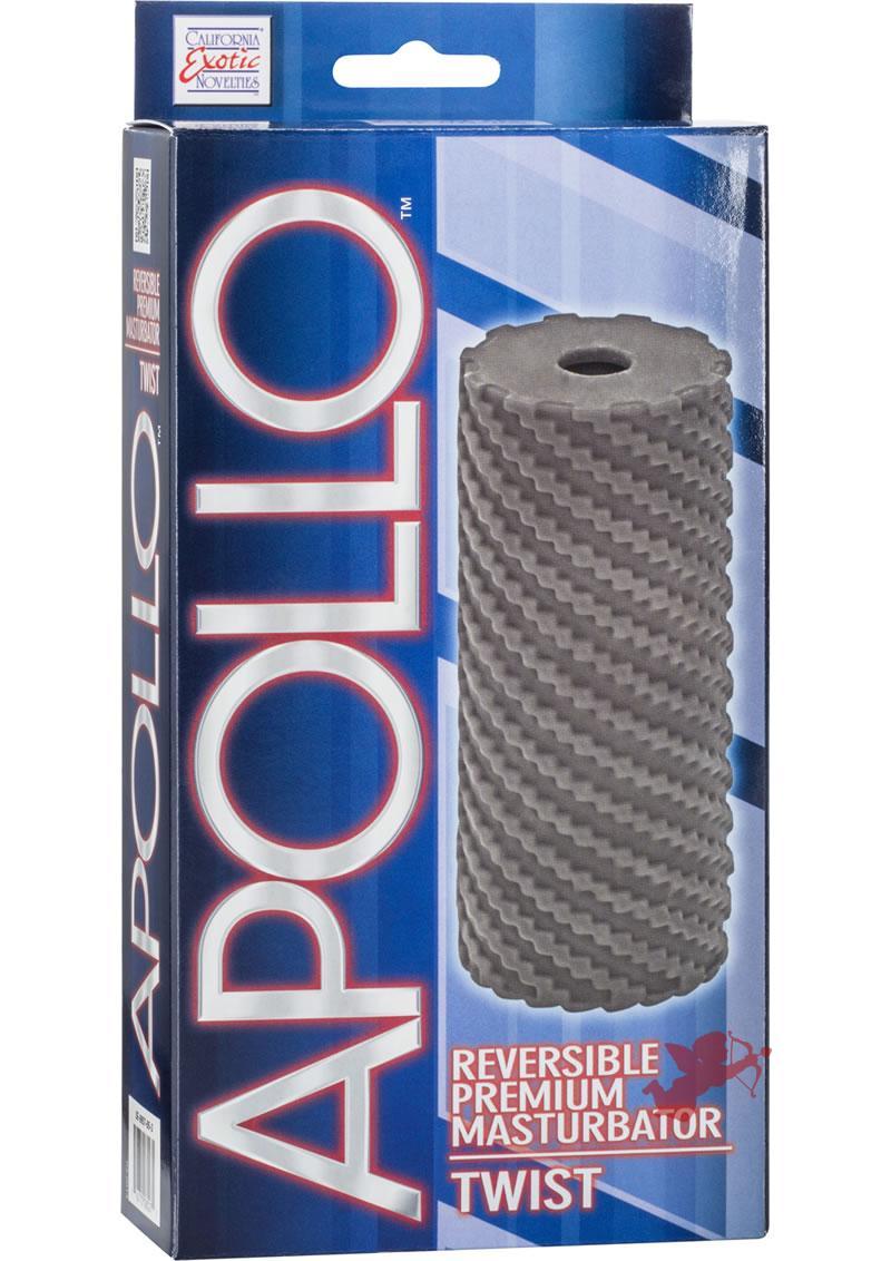 Apollo Reversible Masturbator Twist Grey