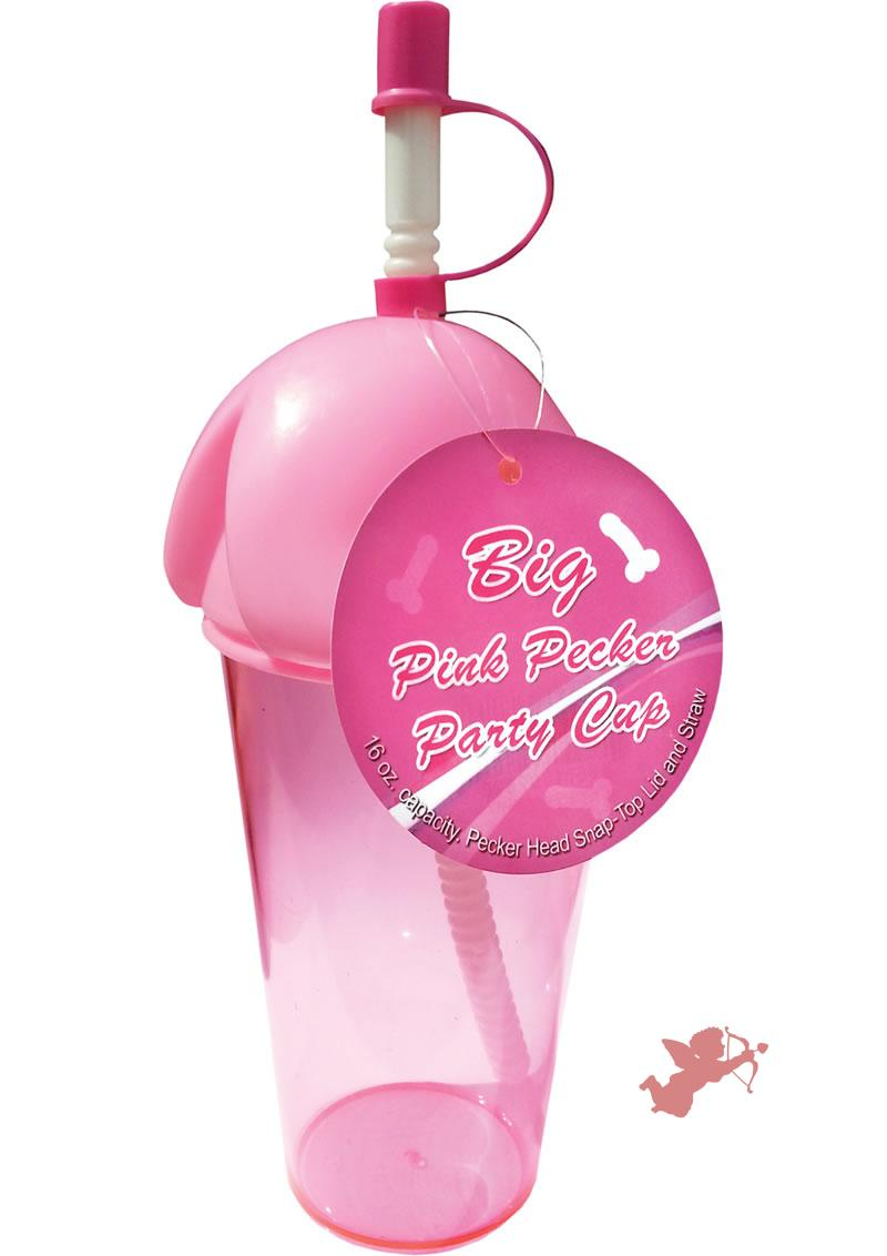 Big Pink Pecker Party Cup