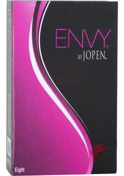 Envy Eight Rechargeable Silicone Dual Vibrator Waterproof Pink 7.5 Inch