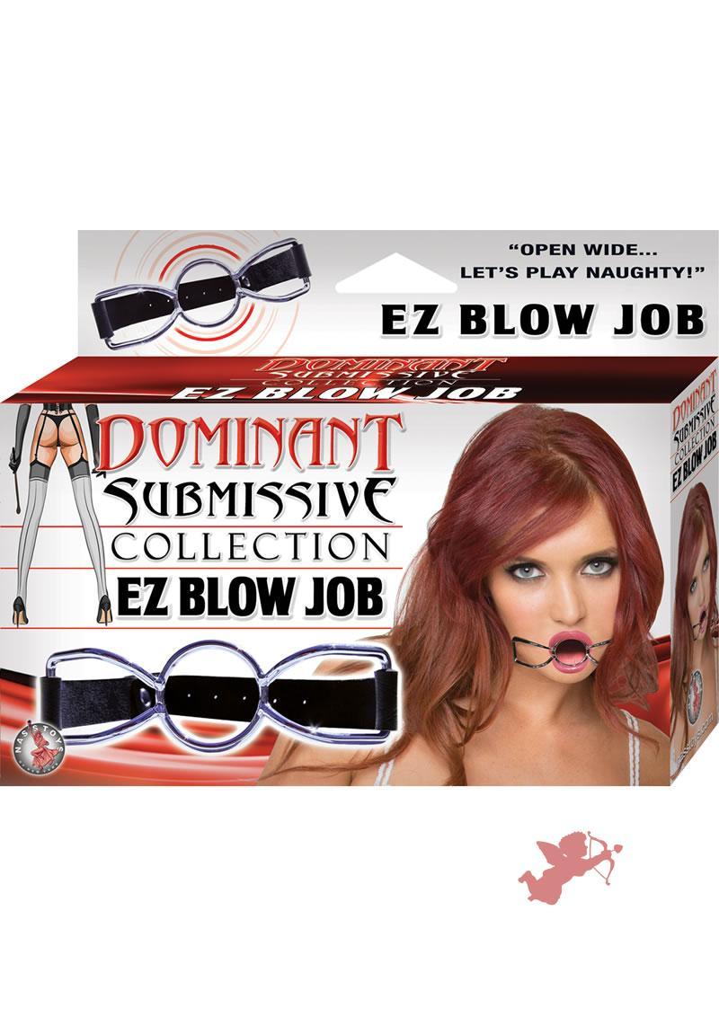 Dominant Submissive Collection EZ Blow Job Black