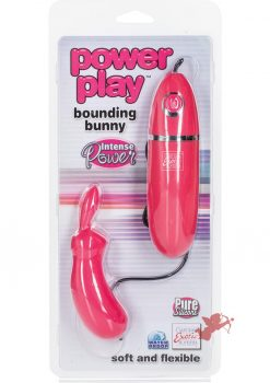 Power Play Bounding Bunny Pink