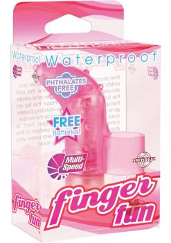 Waterproof Finger Fun Pink