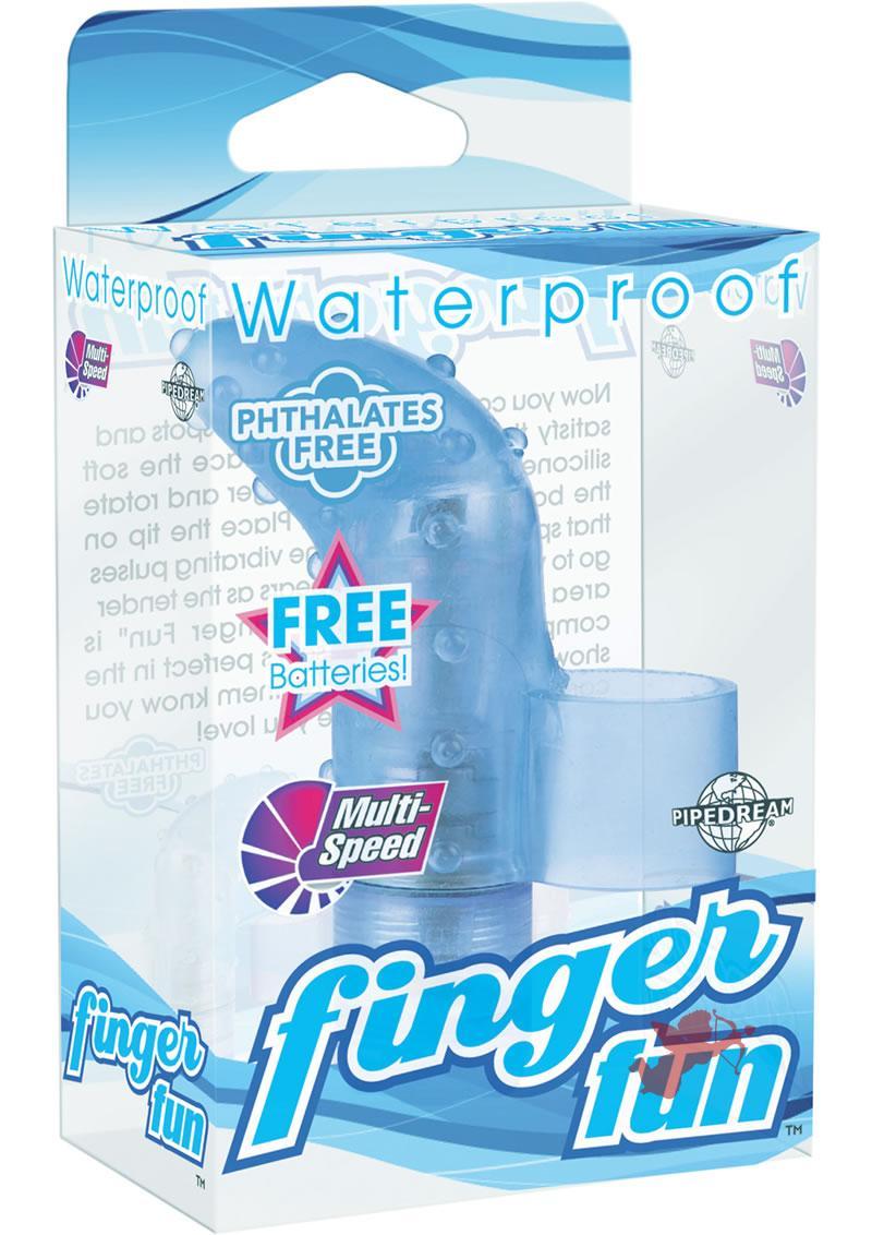 Waterproof Finger Fun Blue