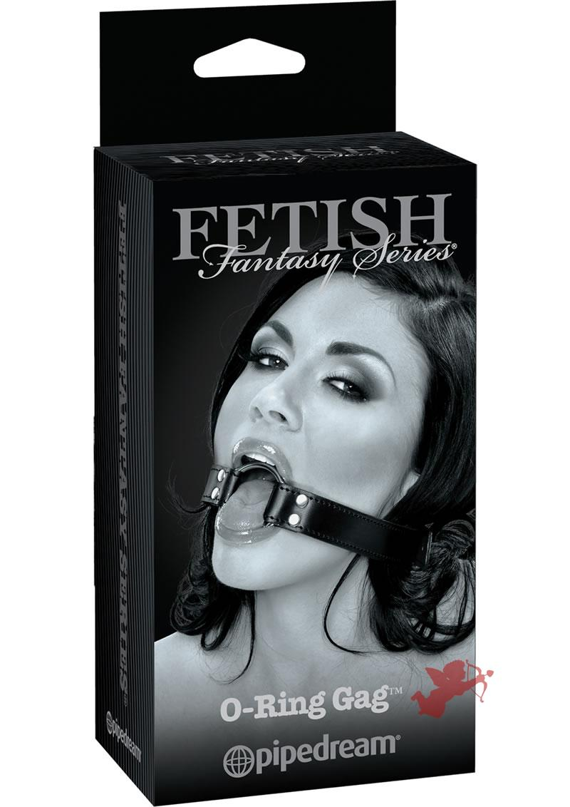 Fetish Fantasy Limited Edition O-Ring Mouth Gag Black
