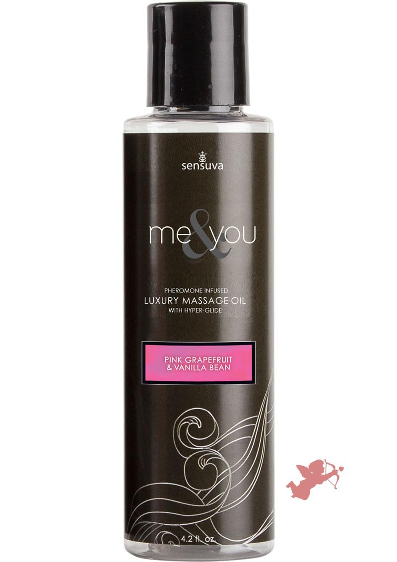 Me and You Massage Oil Grapfruit Vanil 4.2