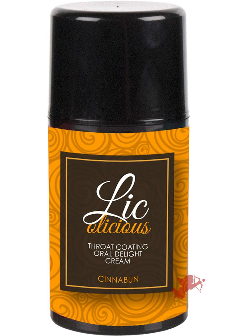 Licolicious Oral Cream Cinnabun 1.7 Oz