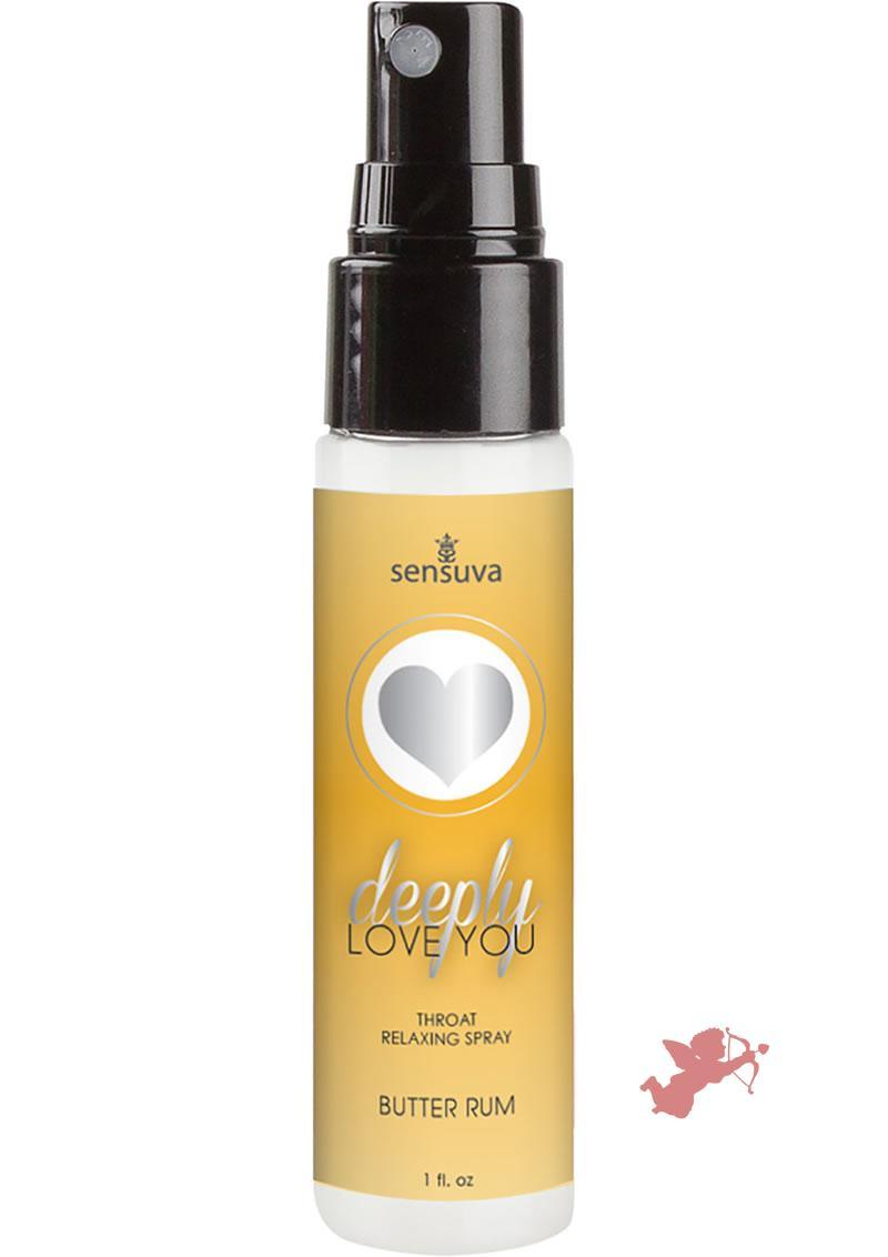 Deeply Love Throat Spray Butter Rum 1oz