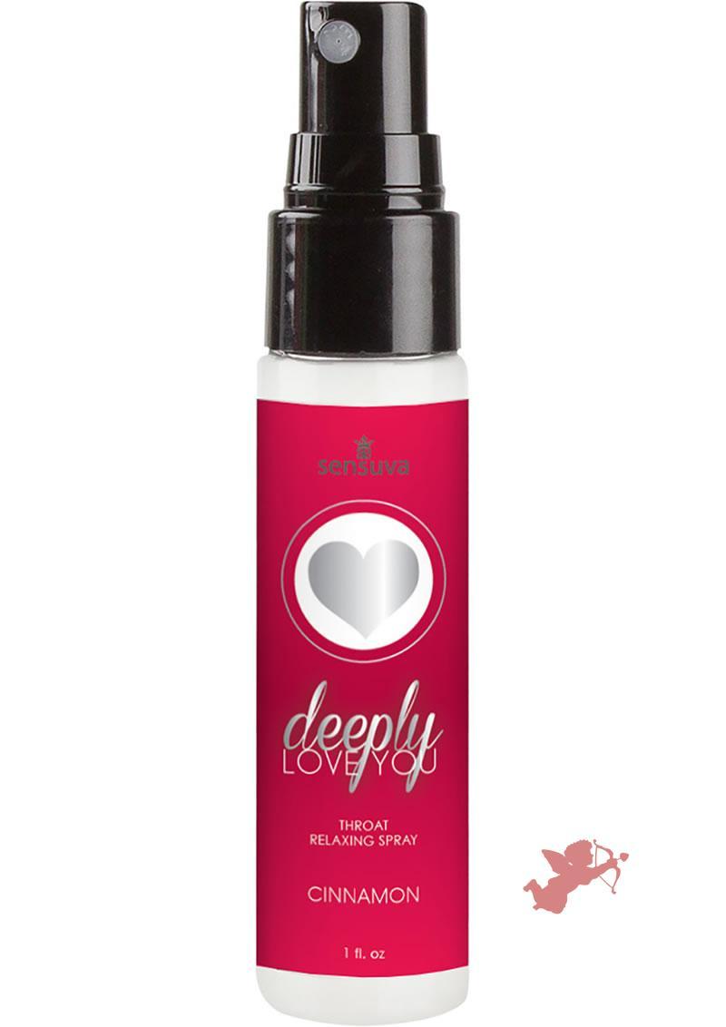 Deeply Love Throat Spray Cinnamon 1oz