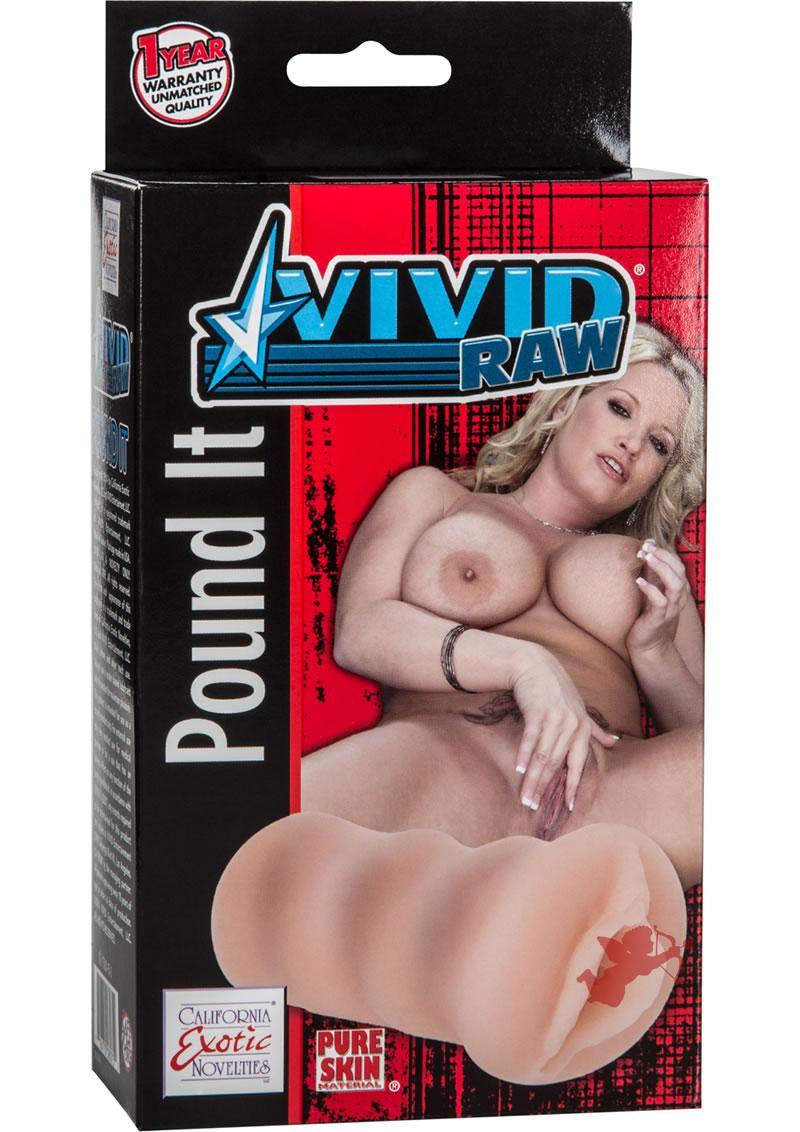 Vivid Raw Pound It Pussy Ivory