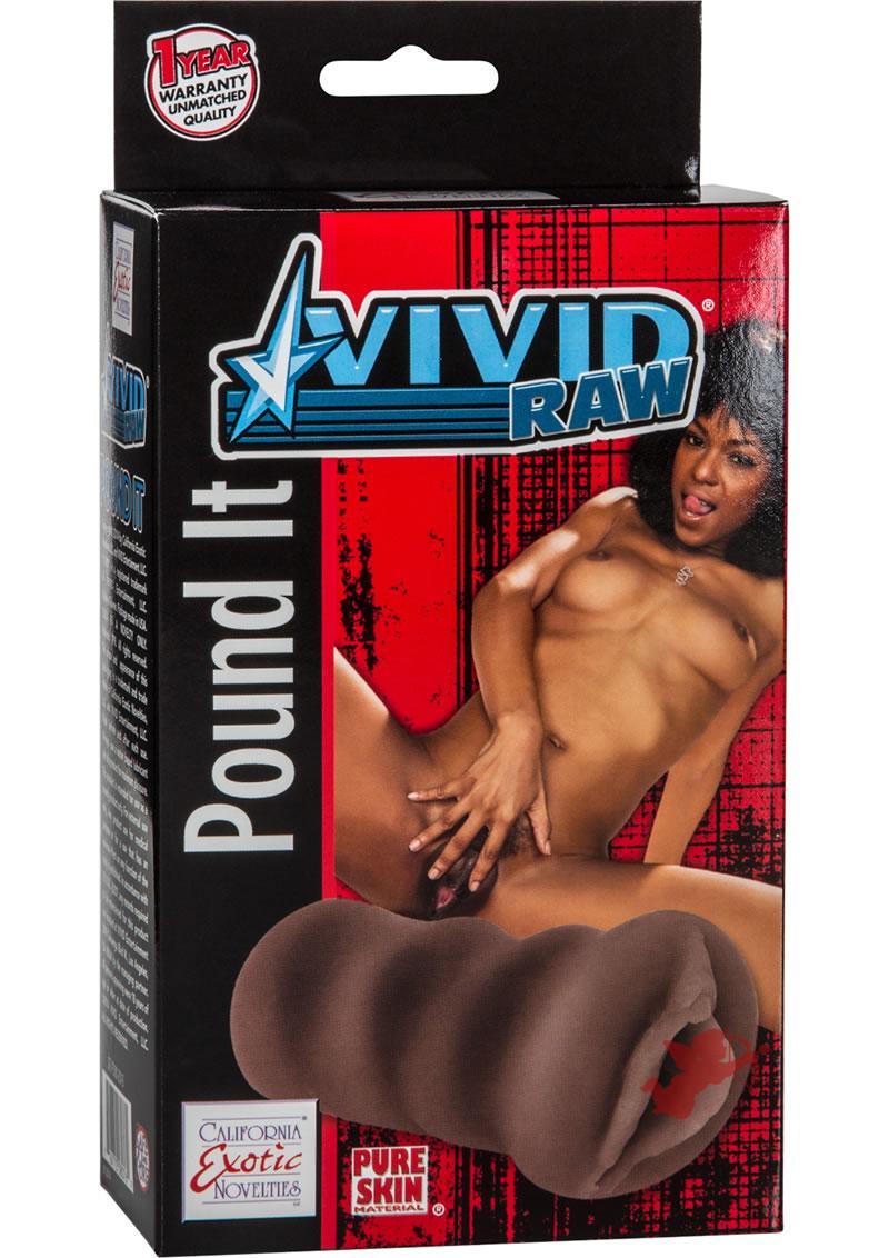 Vivid Raw Pound It Pussy Black