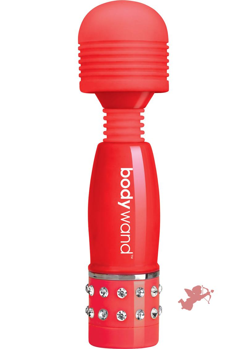 Bodywand Mini Love Edition Body Massager Red 4 Inch