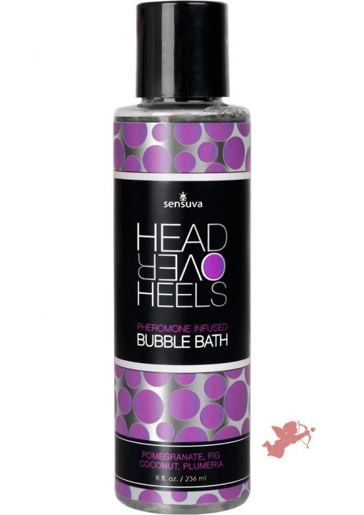 Head Over Heels Bubble Bath Pomegranant 8oz