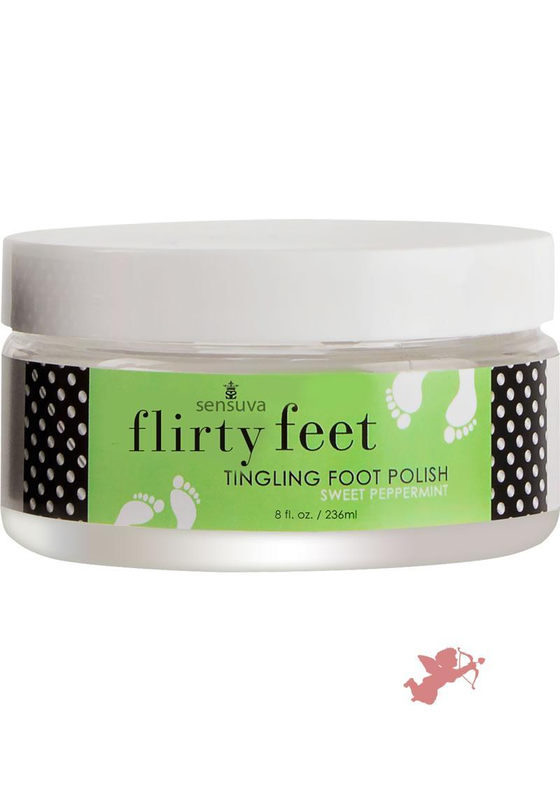 Flirty Feet Foot Polish Peppermint