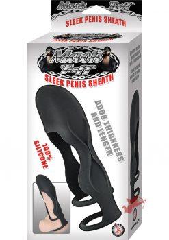 Mack Tuff Sleek Penis Sheath Black