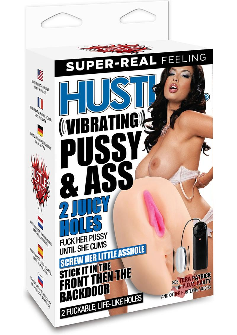 Hustler Tera Patrick Vibrating Pussy and Ass