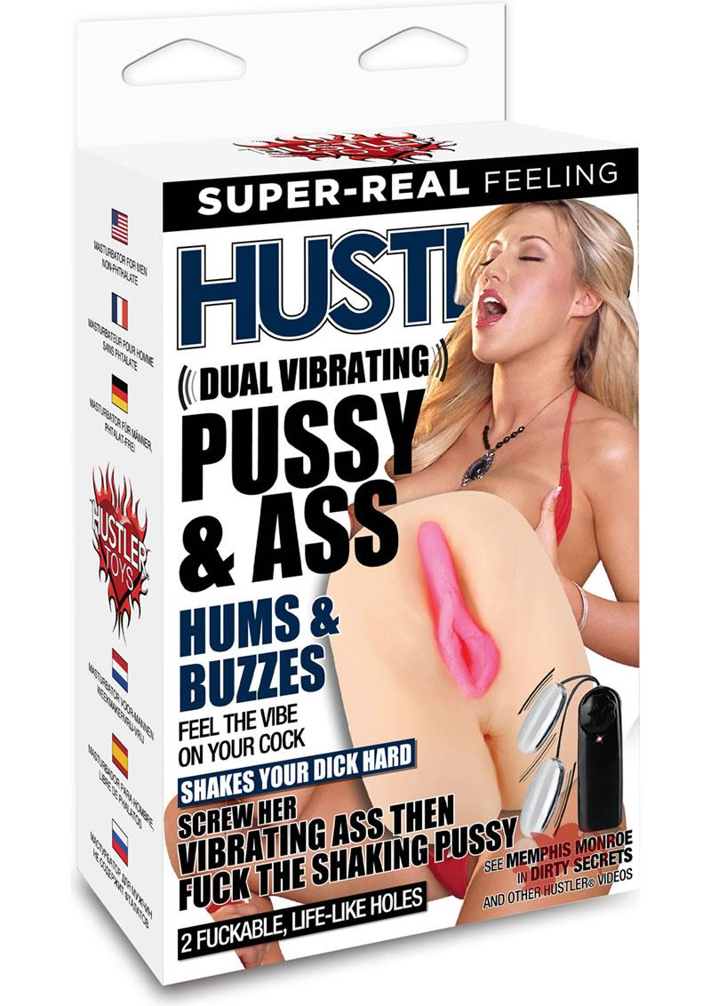Hustler Memphis Monroe Dual Vibrating Pussy and Ass