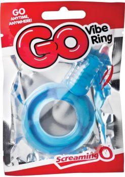 Go Vibe Ring Pop Blue