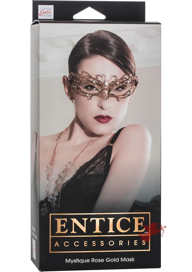 Entice Mystique Mask Rose Gold