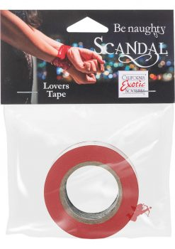 Scandal Lovers Tape Red