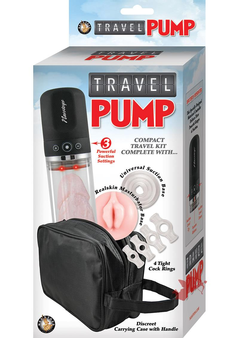Travel Pump Compact Kit Clear