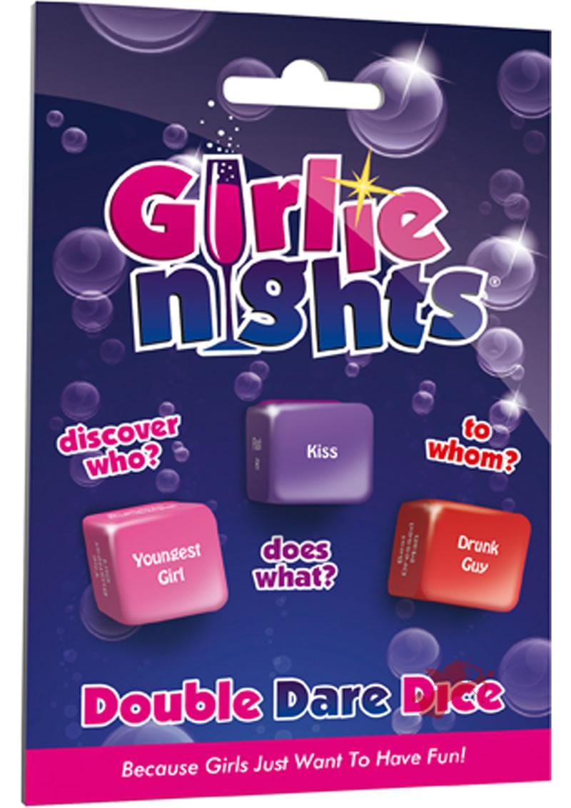 Girly Nights Double Dare Dice