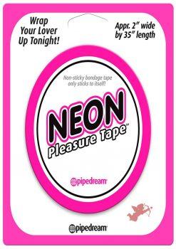 Neon Bondage Tape Pink