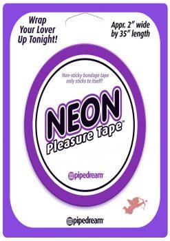 Neon Bondage Tape Purple