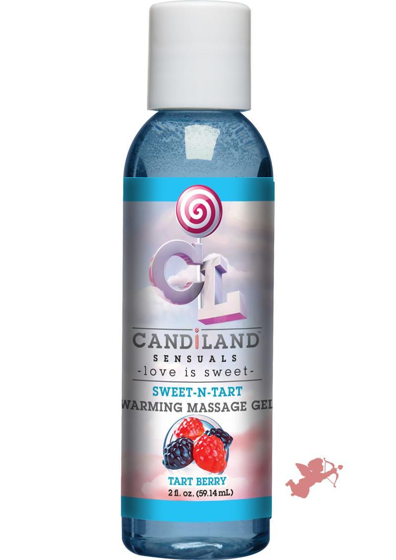 Candiland Sweetntart Warm Gel Tart Berry