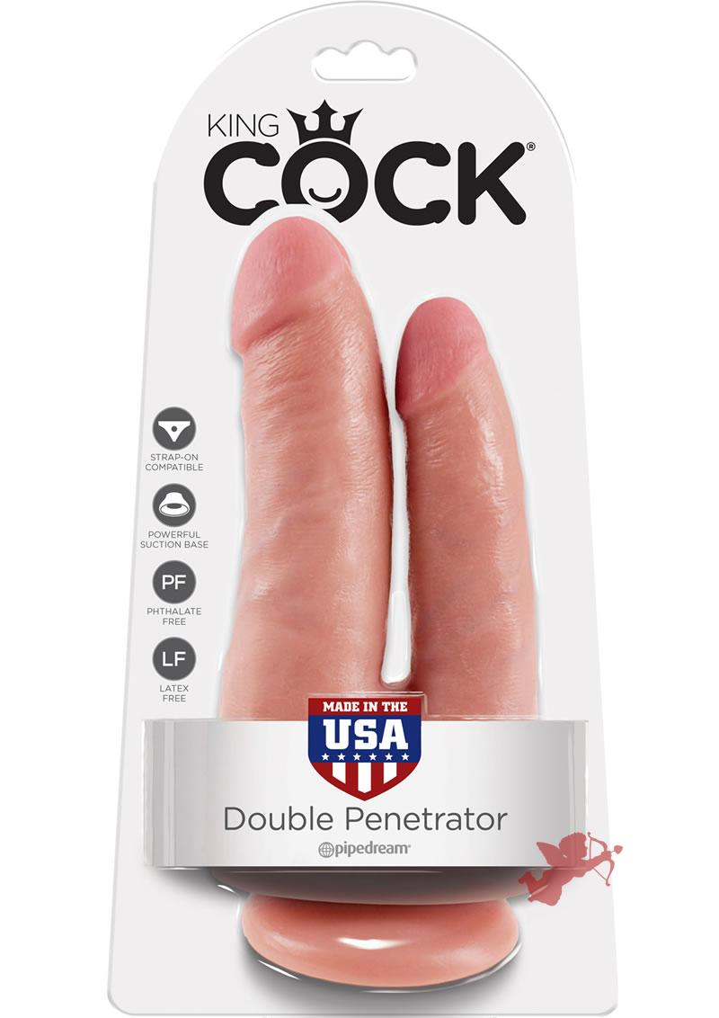 King Cock Double Penetrator Flesh