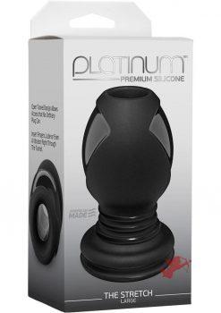 Platinum The Stretch Black Large