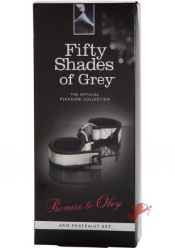 Fifty Shades Promise To Obey Arm Restrai