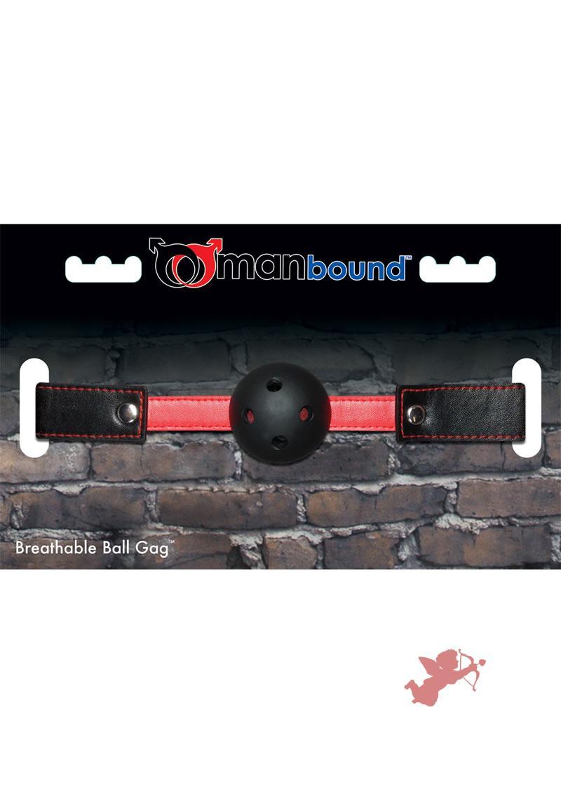 Breathable Ball Gag Manbound
