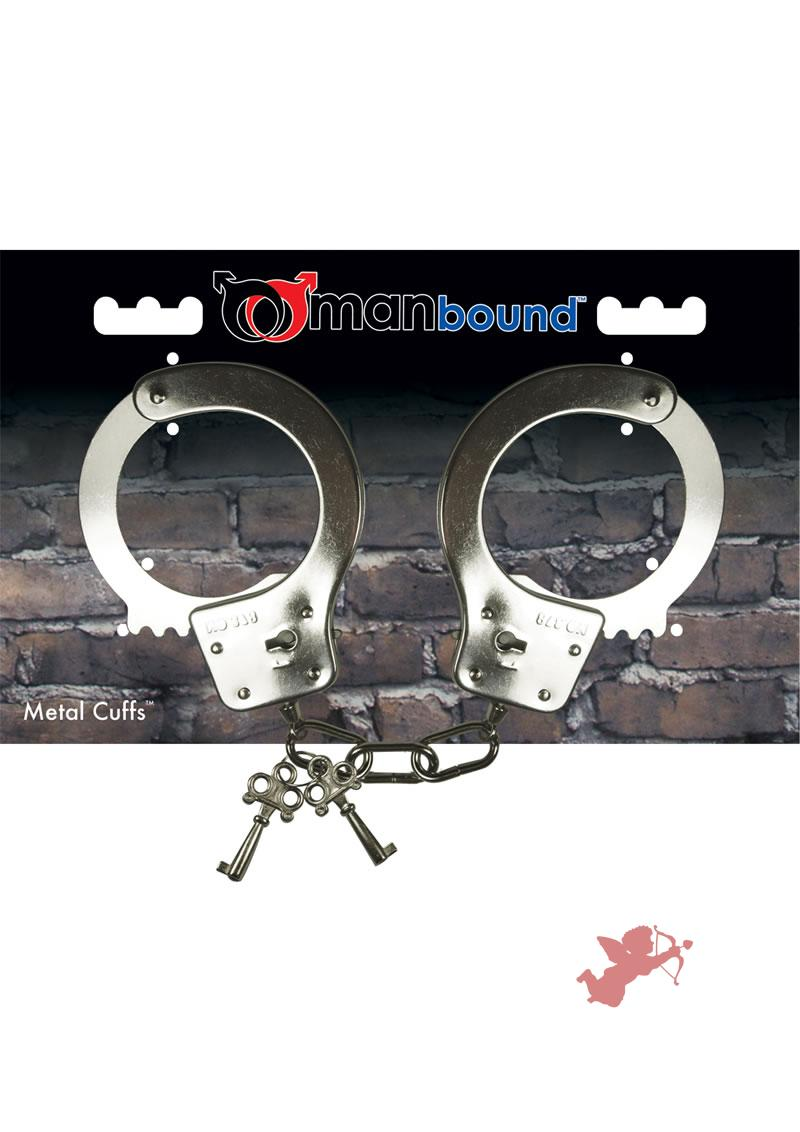 Metal Handcuffs Manbound