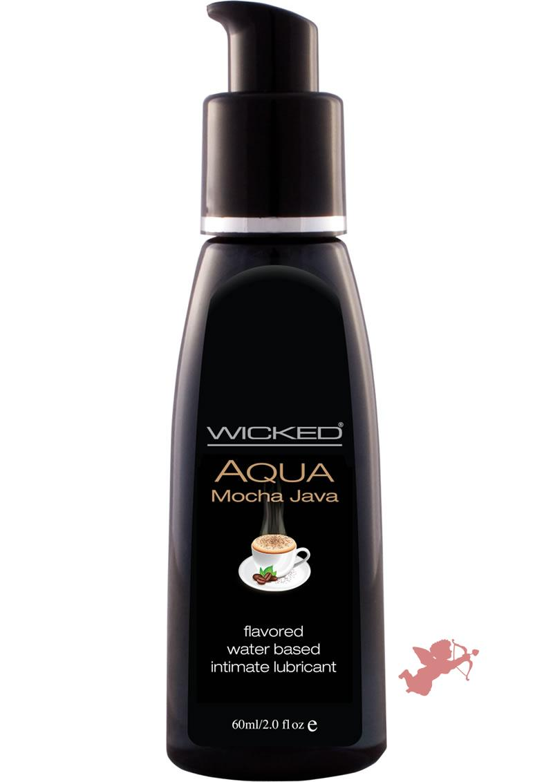 Wicked Waterbased Mocha Java Lube 2oz