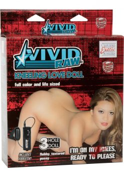 Vivid Raw Kneeling Love Doll Inflatable Vibrating Doll