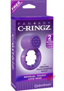 Fantasy C-Ringz Sensual Touch Love Ring Purple