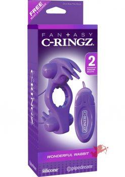 Fantasy C-Ringz Wonderful Wabbit Purple