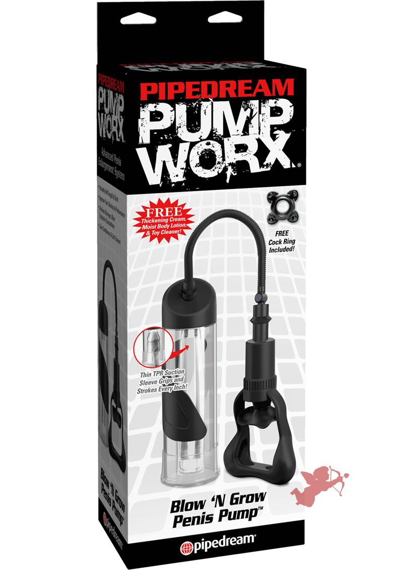 Pump Worx Blow N Grow Penis Pump