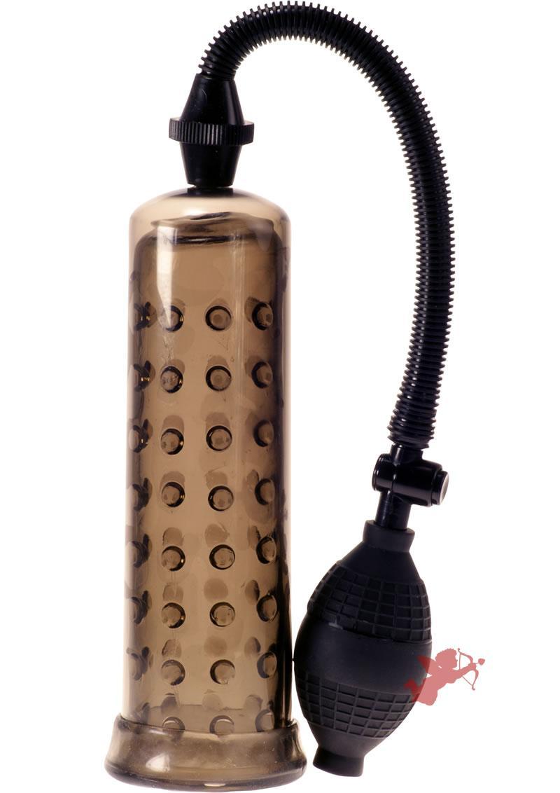 Linx Pumped Up Smoke Penis Pump Black