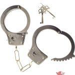 Kink Heay Metal Handcuffs Silver