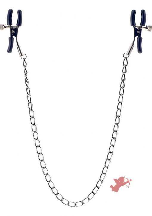 Kinx Squeeze and Please Nipple Clamps With Chain