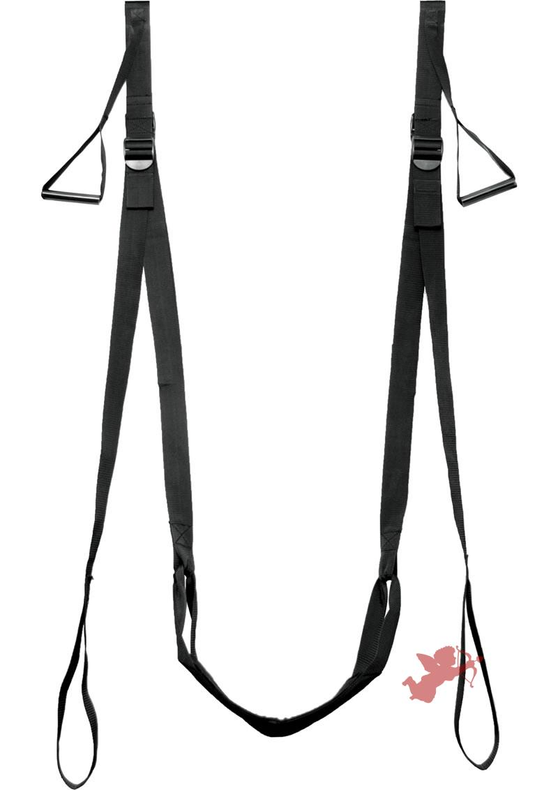 Frisky D'luxe Entry Over Door Love Sling Black