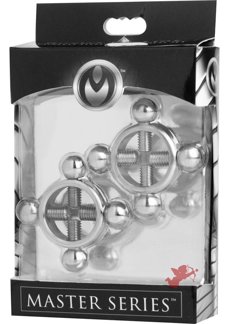 Master Series Rings Of Fire Nipple Press Set