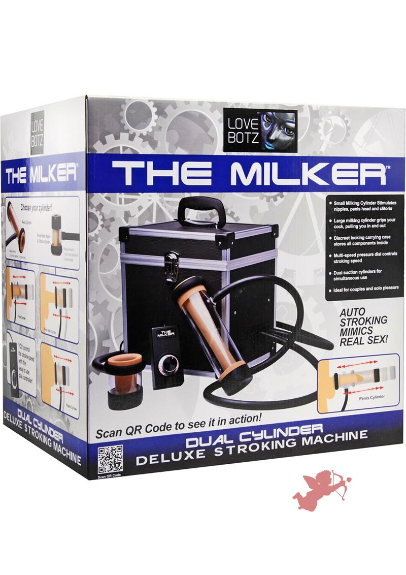 Milker Dual Cylinder Stroking Machine