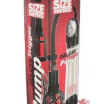 Size Matters Deluxe Trigger Penis Pump Clear