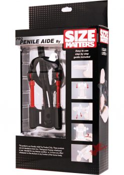 Size Matters Pro Penile Aide Deluxe Black 6 Inch