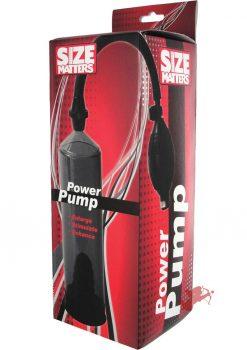 Size Matters Power Pump Black