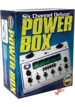 Zeus 6 Channel Electro Sex Deluxe Power Box Kit