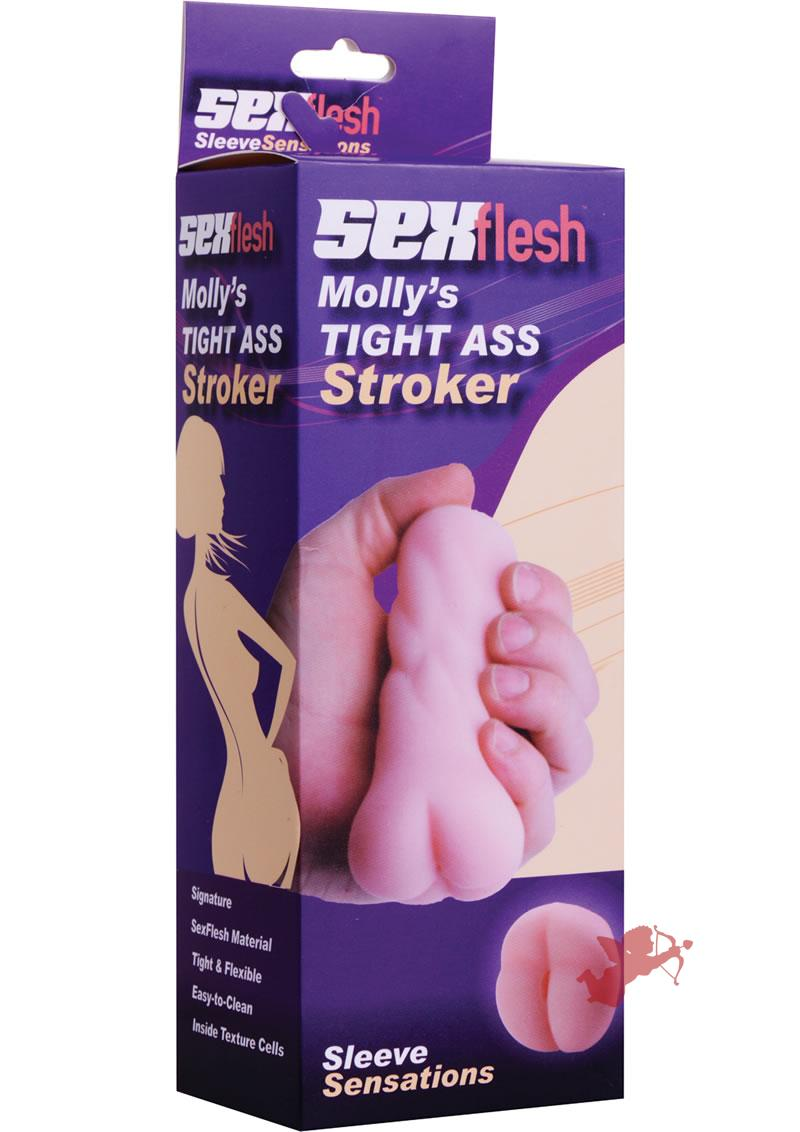 Sex Flesh Molly's Tight Ass Mini Stroker Flesh 5 Inch